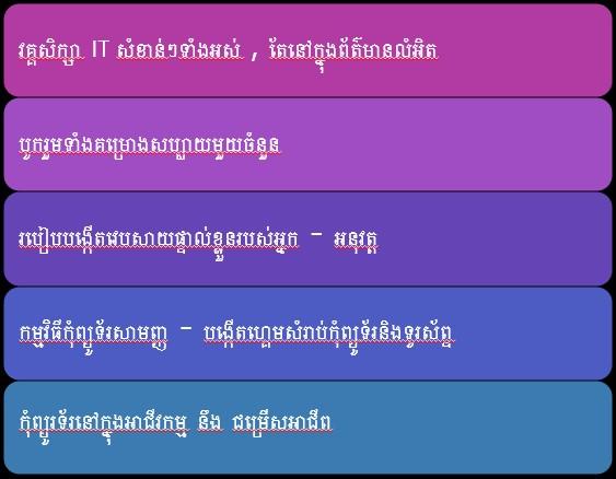 IT Club Cambodia - Advanced IT